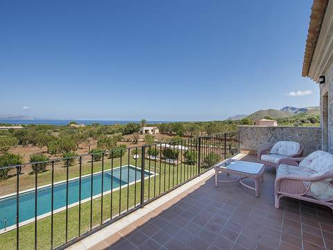 CSP50026 Outstanding country estate with magnificent views over Alcúdia Bay, Colonia San Pere