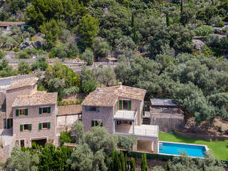 Fantastic finca with spectacular views out over the Mediterranean sea in Deia