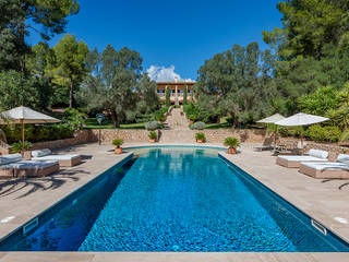 Magnificent luxury villa with two guest houses and fabulous views in Esporles