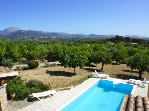 INC5531POL5 Wonderful countryside property with enviable views near Inca