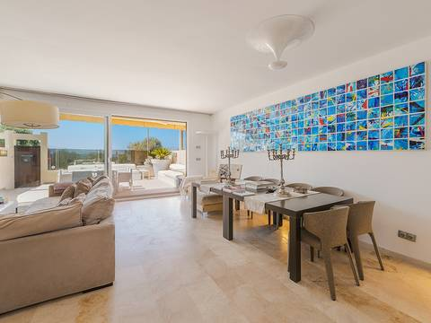 LLU40274 Seafront townhouse with stunning views and communal pool in Llucmajor