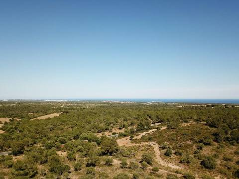 MAN0455B Awesome plot of land with sea views measuring 60,409 m2 near Rafa Nadal Sports Centre
