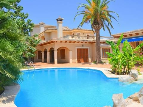 MAN40PER0323 Luxury villa with pool, a lovely garden and ample terrace areas in Sant Llorenç des Cardassar