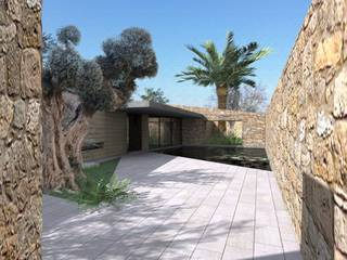Huge plot with project close to Manacor with fantastic sea views