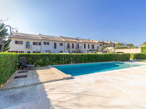 MOS20352 Townhouse with shared pool and garden in Moscari, Mallorca