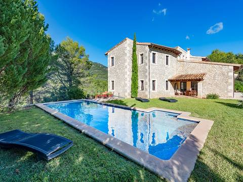 MOS50059 Wonderful loft style finca with pool, enjoying fantastic mountains views in Moscari