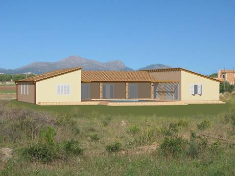 MUR0164 Country side building plot with fantastic views in Muro