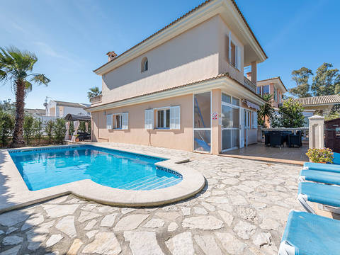 MUR40601ETV Attractive holiday villa with private pool close to Playa de Muro beach