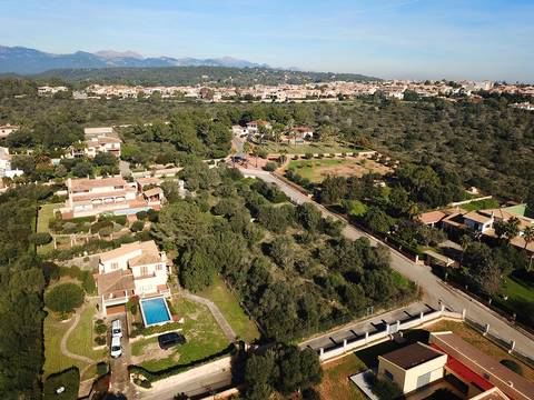 PAL0430 Fantastic building plot with license to build a house and pool in Sa Cabaneta