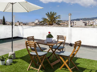 Elegant, 6 bedroom apartment for sale in central Palma with views to the Bellver Castle