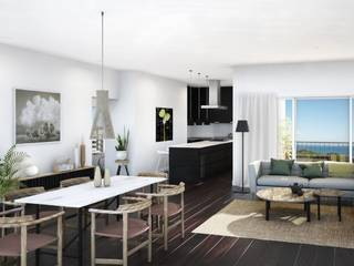Amazing new apartment hotel design concept in Palmas new hot-spot