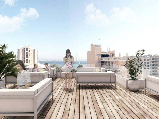 Amazing new apartment design hotel concept in Palmas new hot-spot