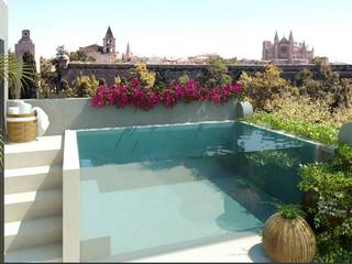 Finest Penthouse with private pool and terrace in Santa Catalina