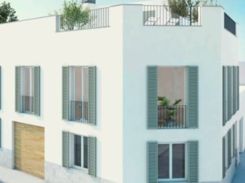 PAL20089 Twin Townhouse located at a super prime location in popular Portixol/Molinar aera