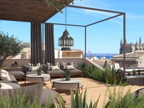 PAL20286 Lavish 7 bedroom mansion right in the centre of Palma old town