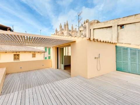 PAL2W-00A8CA Palatial house for sale in Palma Old Town - with private terrace and pool