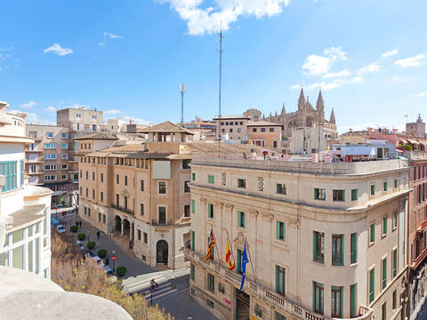 PMOPAL1037 Spectacular apartment with wonderful views to Paseo del Borne