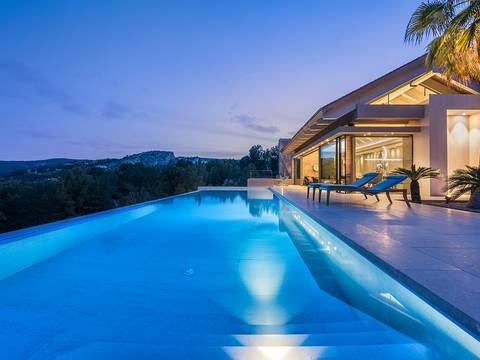 PMOSOV4006 Newly built luxury residence in Son Vida with views over Palma Bay