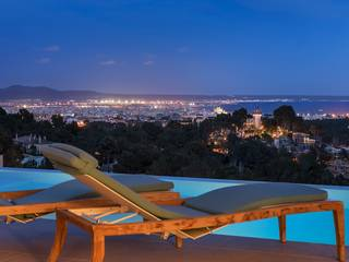Newly built luxury residence in Son Vida with views over Palma Bay