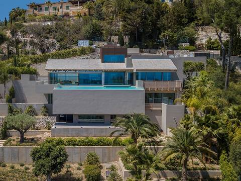 PMOSOV4007 Luxury newly build villa in Son Vida with views over the bay of Palma