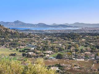 Plot for sale with magnificent views over the mountains and the bay in Pollensa