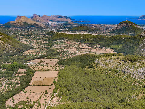 POL0250 Picturesque plot with planning license close to the old town of Pollensa