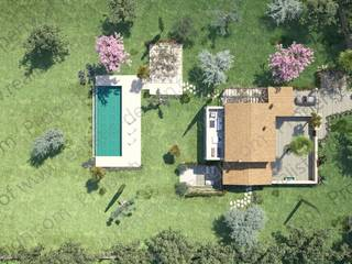 Plot with sea views and project for sale in a prestigious area near Pollensa Golf