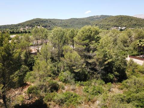 POL0423 1.000m2 building plot available to buy in a privileged residential area near Pollensa