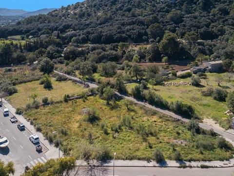 POL0444POL6 Urban plots with approved project in area with good road access near Pollensa