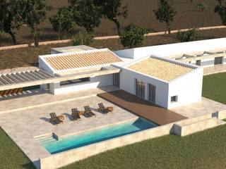 Plot of land with project in a superb rural location near Pollensa town and the beaches