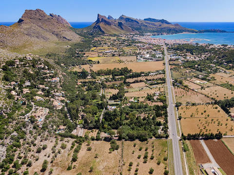 POL0501 Country plot with building permission, close to Puerto Pollensa