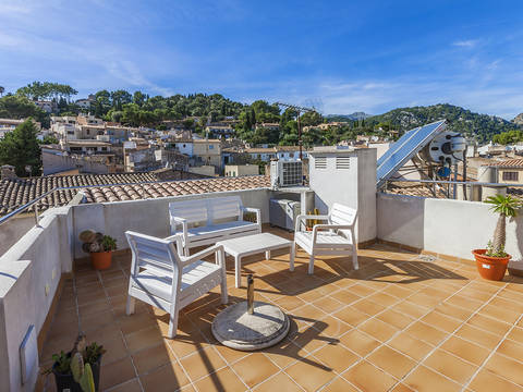 POL11647POL2 Modern and attractive apartment with roof terrace close to the centre of Pollensa