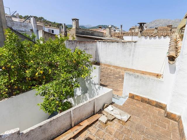 Exclusive project! Modernisation plans for a old town house in the heart of Pollensa