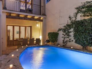 Town House in Pollensa, Mallorca with a Private Swimming Pool