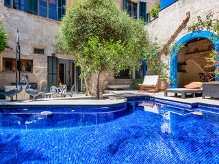 Elegant town house with pool in a historical neighbourhood near the centre of Pollensa