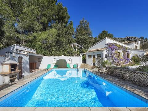 POL40270 Captivating country villa with independant guest cottage not far from Pollensa town