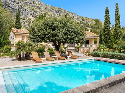 POL40394 Attractive villa with guest house and pool in exclusive La Font, Pollensa