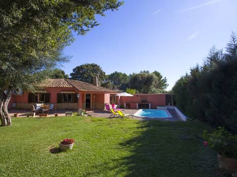 POL40395 Charming two bedroom house with pool, close to the golf course in Pollensa