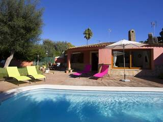 Charming two bedroom house with pool, close to the golf course in Pollensa