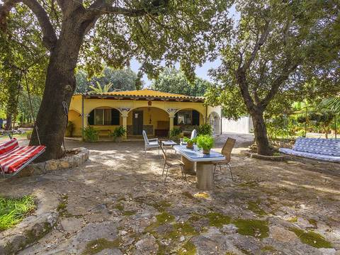 POL40478 Three bedroom Spanish villa with a swimming pool in a quiet area of Crestatx