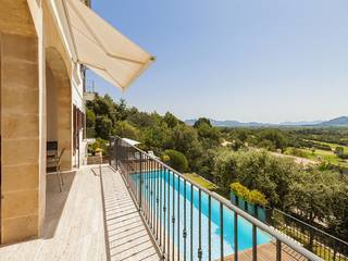 Stunning newly built villa for sale with amazing views over the bay of Pollensa