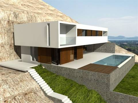 POL4LAFONT-B FANTASTIC BUILDING PROJECT WITH LICENCE FOR A DETACHED VILLA IN LA FONT AREA ¡