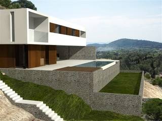 FANTASTIC BUILDING PROJECT WITH LICENCE FOR A DETACHED VILLA IN LA FONT AREA ¡