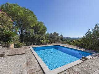 Impressive sea view country estate tucked away en route between Pollensa and Puerto Pollensa
