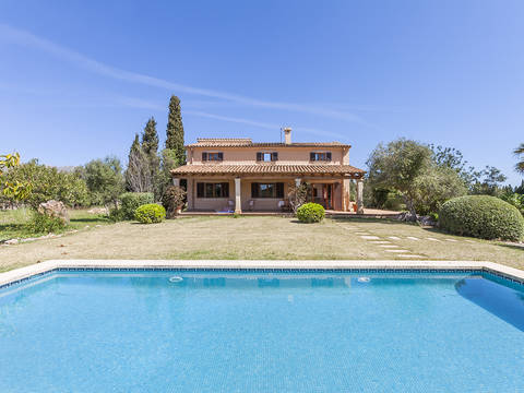 POL50069 Country house with separate guest quarters in stunning surroundings near Pollensa town