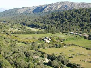 Typical Mallorquin country home close to Pollensa, North of Mallorca, Balearic Islands