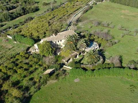 POL5025RM Historic Mallorcan estate to reform in the stunning countryside not far from Pollensa