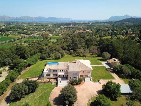 POL5219ALC Exclusive country villa in an enviable location with indoor and outdoor pools near Alcúdia