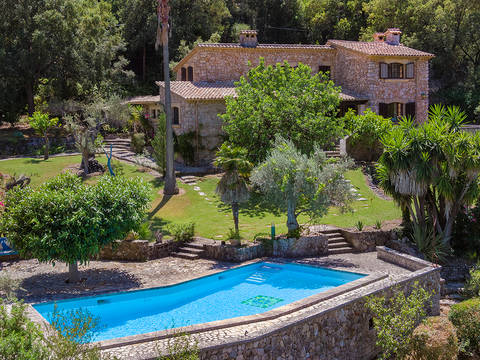 POL52518 Charming finca with artist's studio in a picturesque valley close to Pollensa town