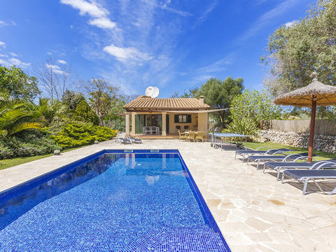 POL52649ETV Beautiful rustic villa in the peaceful Pollensa countryside